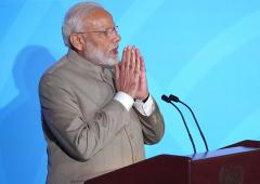 Time for talks is over: Modi at UN climate summit