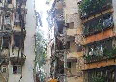 10-yr-old girl killed in Mumbai building collapse
