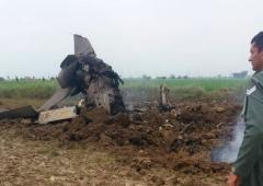 MiG-21 trainer aircraft crashes near Gwalior airbase