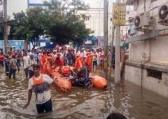 Heavy rain causes havoc in Hyderabad; 1 killed