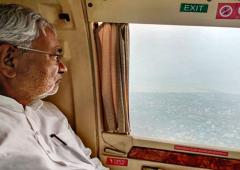 'Where was Nitish Kumar for 4 days of Patna floods?'