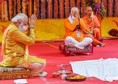 Did India's secularism die on August 5?