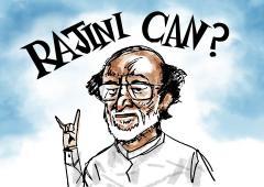 Will Rajini be BJP's Nitish in TN?