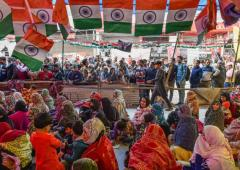 Shaheen Bagh has no complaints about Kejriwal