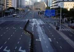 Ghost streets of China post coronavirus outbreak