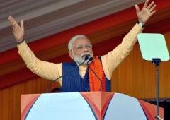 Come back, celebrate life: Modi to insurgents