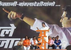 Raj Thackeray leads MNS rally against 'infiltrators'