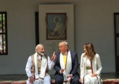 Rashtrapati Bhavan prepares for Trump