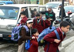 After 7 months, schools reopen in Kashmir Valley