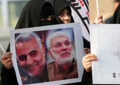 Thousands mourn for Iranian general Soleimani