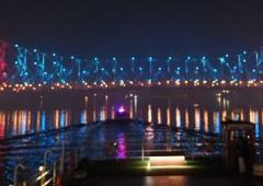 PM inaugurates sound and light show at Howrah Bridge
