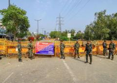 Delhi police deploys large force in Shaheen Bagh