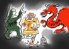 'How can India be a competitor to China?'
