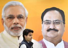 Scindia's BJP entry: His aunt speaks!