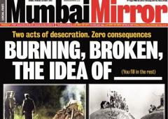 Farewell, Mumbai Mirror