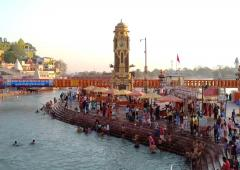 PHOTOS: Kumbh Mela begins amid rising Covid cases