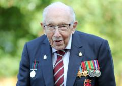 UK lockdown hero Captain Tom dies of COVID at 100