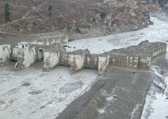 'Intense sun melted glacier'