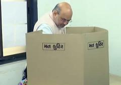 Voting underway for 6 municipal corporations in Guj