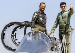 PIX: BJP's Tejasvi Surya flies Tejas fighter jet