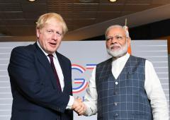 Boris Johnson has done Modi a favour