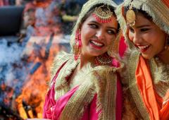 PIX: India celebrates Lohri, gears up for Sankranti
