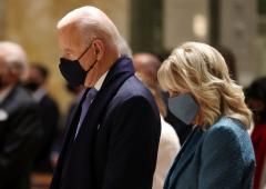 Biden, Harris attend Church Service before swearing-in