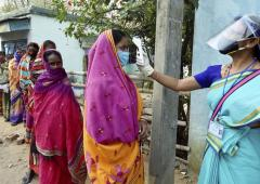 Over 79% voting in Bengal amid sporadic violence