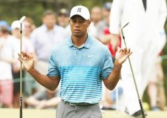 Woods promises trash talking during charity match