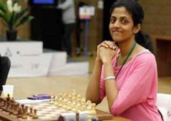 FIDE Women's GP: Harika fights for a draw, moves up to joint 8th