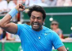 I don't ask about location or opponent: Paes