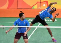 Attri-Reddy crowned champs; Saina pulls out of PBL