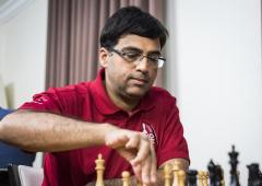 Norway Chess: Anand beats Karjakin to finish joint second