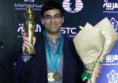 Fantastic feeling to finish on the podium in Rapid and Blitz: Anand