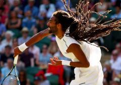 No handshakes, no fans as live tennis resumes