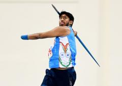 Sundar defends title; India secure 3 Tokyo Para Oly quotas