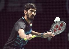 Hong Kong Open: Srikanth advances; Sindhu knocked out