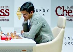 Chess Roundup: Harikrishna wins against Ian; Vaishali wins gold