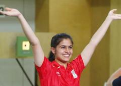 Why shooter Manu Bhaker's father is upset