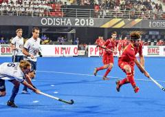 Hockey WC: Olympic champions Argentina beat NZ 3-0