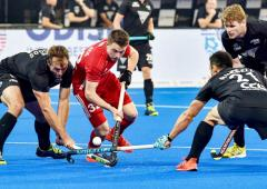Hockey WC: England beat NZ, to meet Argentina in quarters