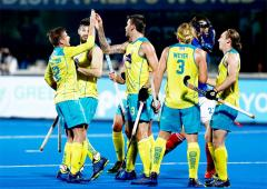 Hockey WC: Title holders Australia beat France to progress to semis