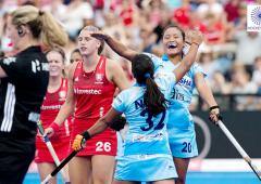 Women's Hockey WC: India held by England after late equaliser