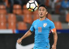 Chhetri's legend grows but Indian soccer slips in 2019