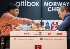 Norway chess: Anand settles for another draw