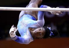 US gymnast Biles cried at news of Tokyo postponement