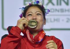 'Nervous' Mary Kom targets another gold at Worlds