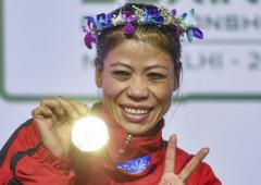 Mary Kom adds another feather to her illustrious hat