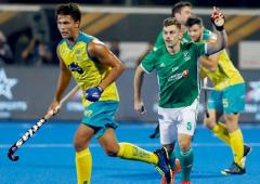 Hockey WC: Title holders Australia struggle past Ireland