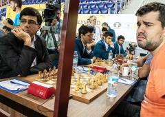 Chess Olympiad: India play draw against Russia